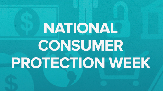 National Consumer Protection Week Blog