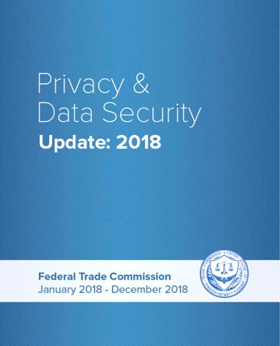 Cover of FTC 2018 Privacy & Data Security Update