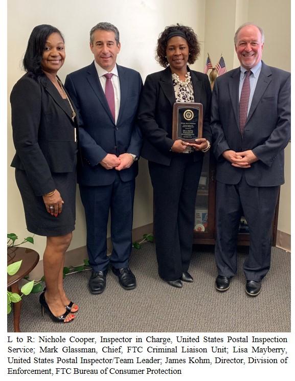 Consumer Shield Award ceremony
