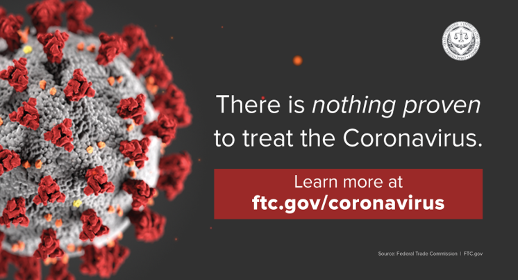 FTC Coronavirus page