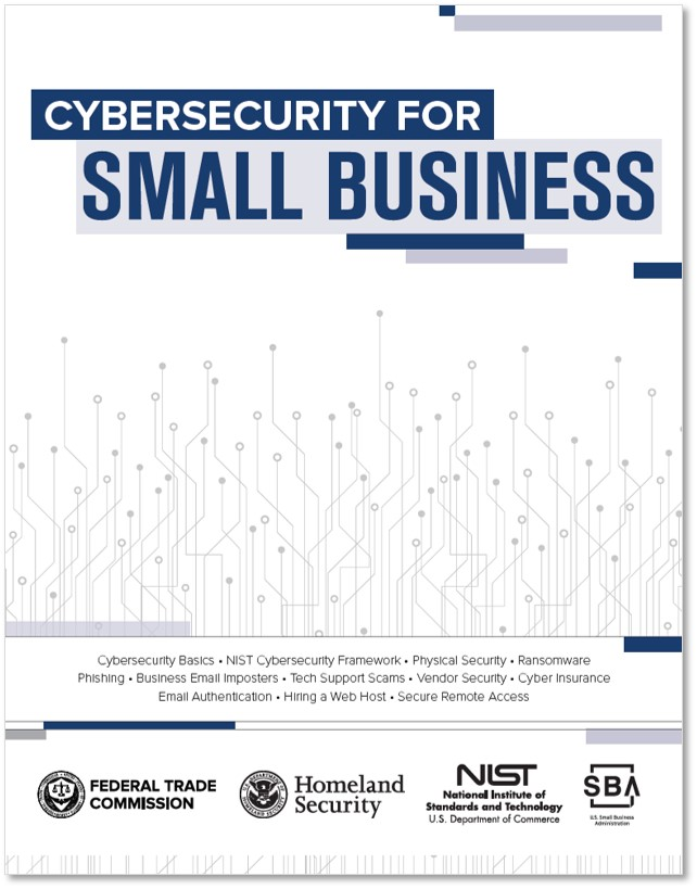 Cybersecurity for Small Business cover