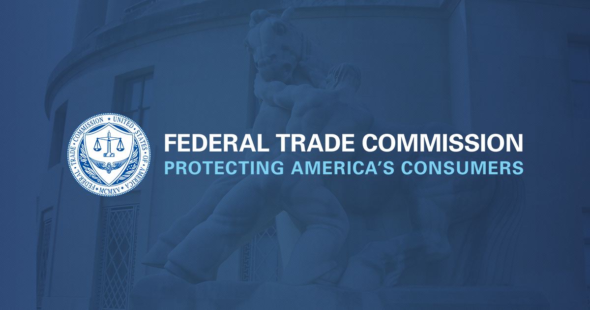 Cooperation Agreements Federal Trade Commission