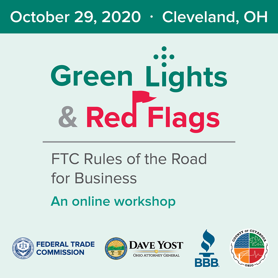 Logo for Green Lights & Red Flags workshop