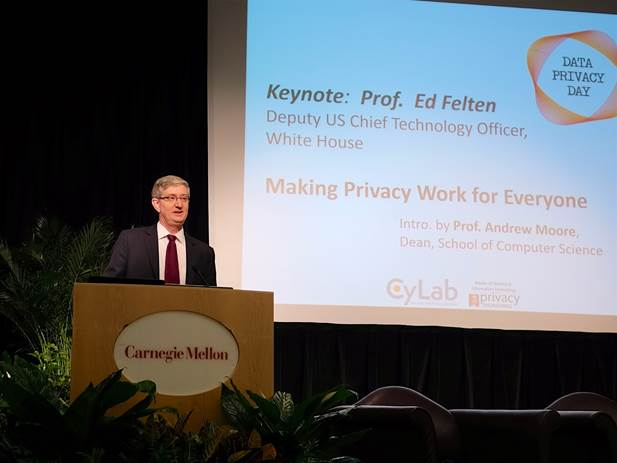 Ed Felten gives keynote presentation at Data Privacy Day 2016