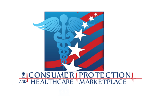 Consumer Protection and Healthcare Logo