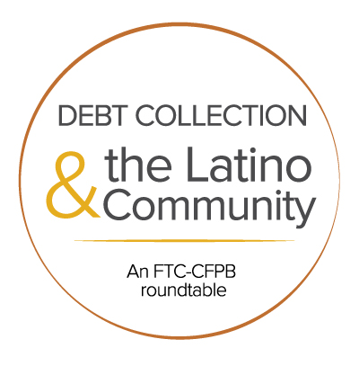 debt collection Latino community logo