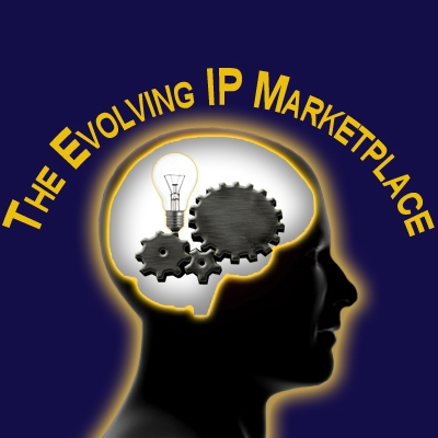 The Evolving IP Marketplace Logo