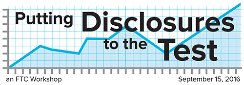 Disclosures Workshop Banner
