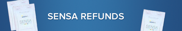 Sensa Product Refunds