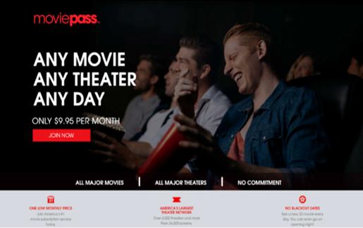 FTC MoviePass ad