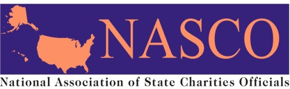 logo of NASCO: National Association of State Charities Officials
