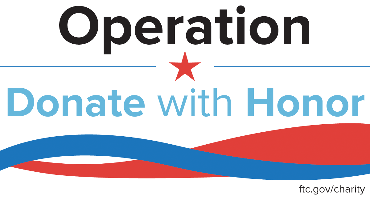 Operation Donate with Honor logo