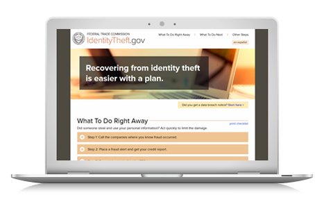 Ftc Launches New Resource For Identity Theft Victims  Federal
