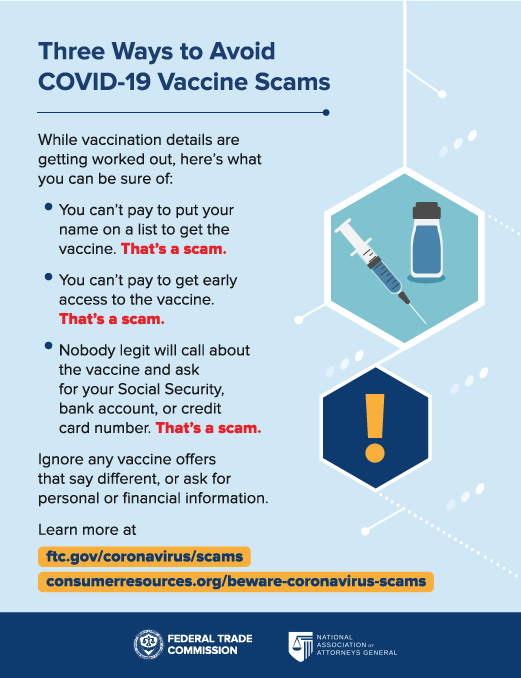 Three Ways to Avoid Covid-19 Scams