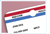 Generic Medicare card
