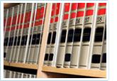 Books sitting on a shelf