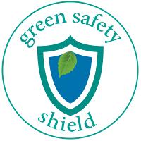 green safety shield logo