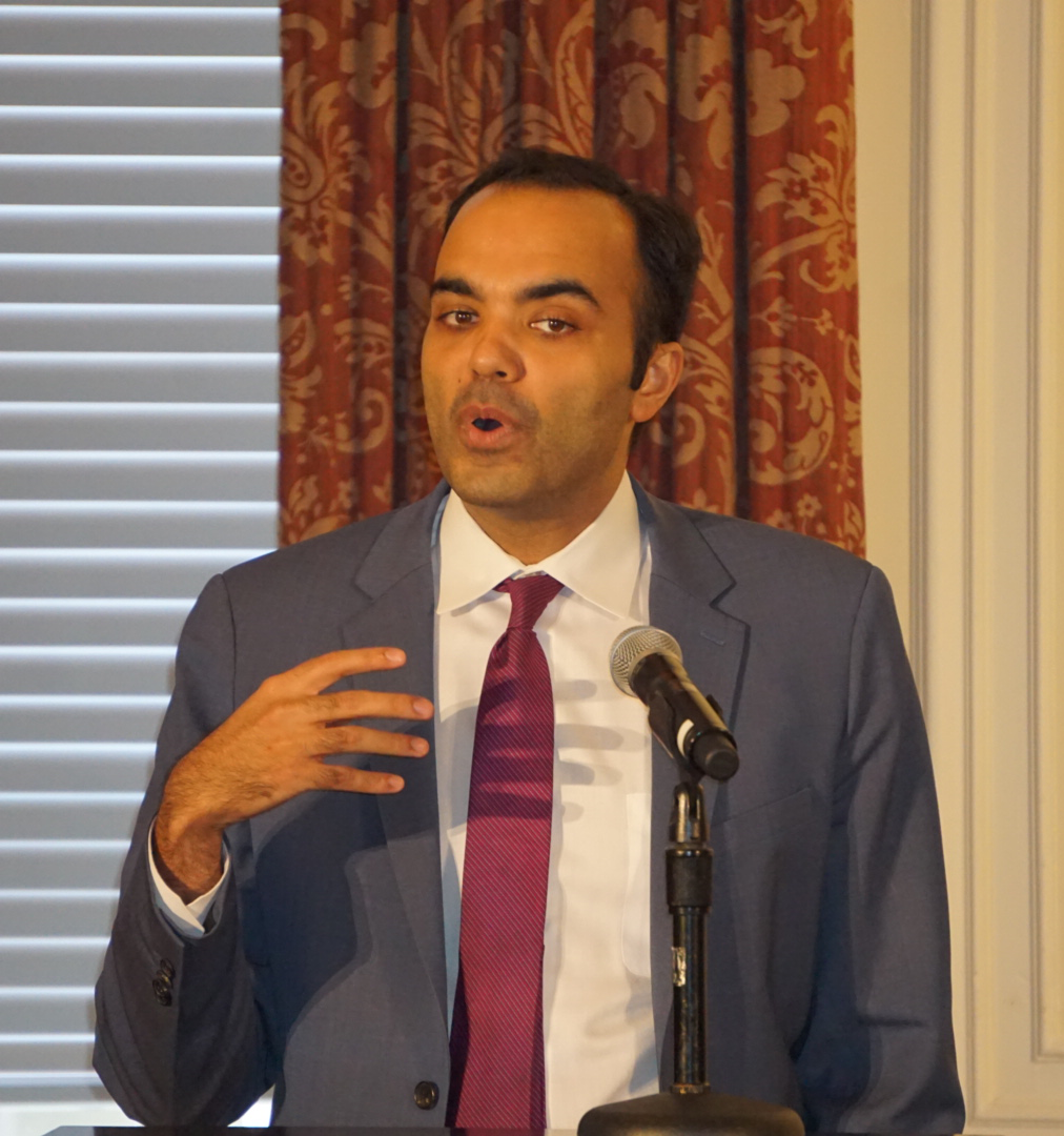 Commissioner Rohit Chopra makes remarks at the eighth FTC hearing