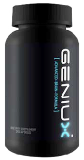 Geniux product bottle