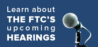 Learn about the FTC's upcoming hearings