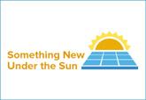 Something New Under the Sun workshop logo