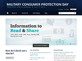 Military Consumer Protection Day website