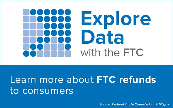 Explore Data with the FTC - Learn more about FTC refunds to consumers