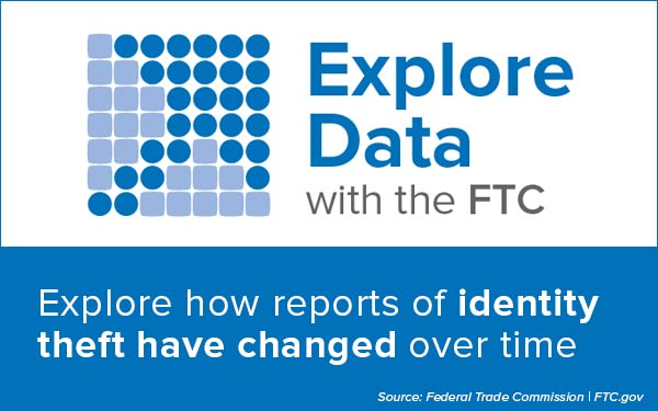 Explore Data with the FTC - Find out about identity theft statistics in your state and nationally