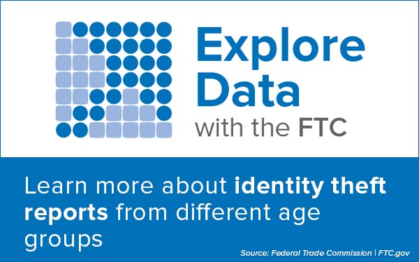 Explore Data with the FTC - Learn more about identity theft reports from different age groups