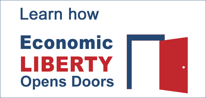 Learn how Economic Liberty opens doors
