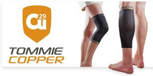 Sample Tommie Copper advertisement for copper-infused compression clothing.