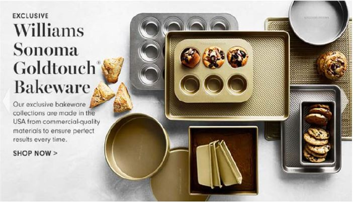 Goldtouch Bakeware product claim