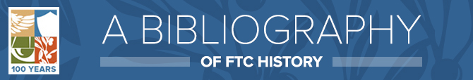 A bibliography of FTC history - 100 years banner